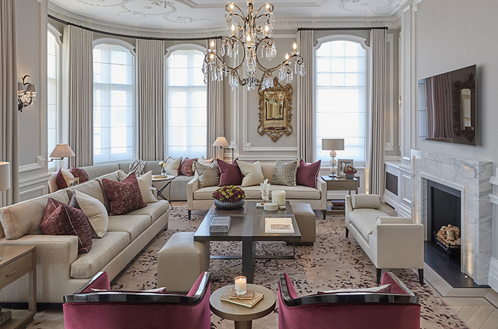 high end luxury interior designers london uk